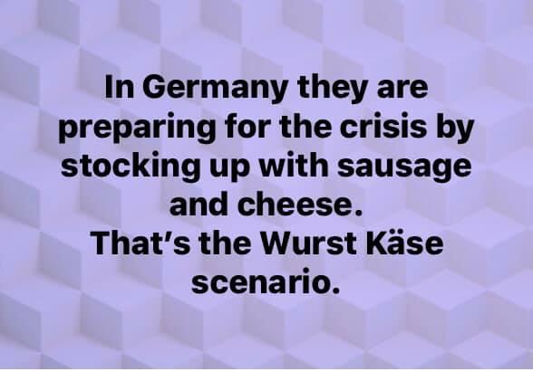 Wurst Kase Scenario