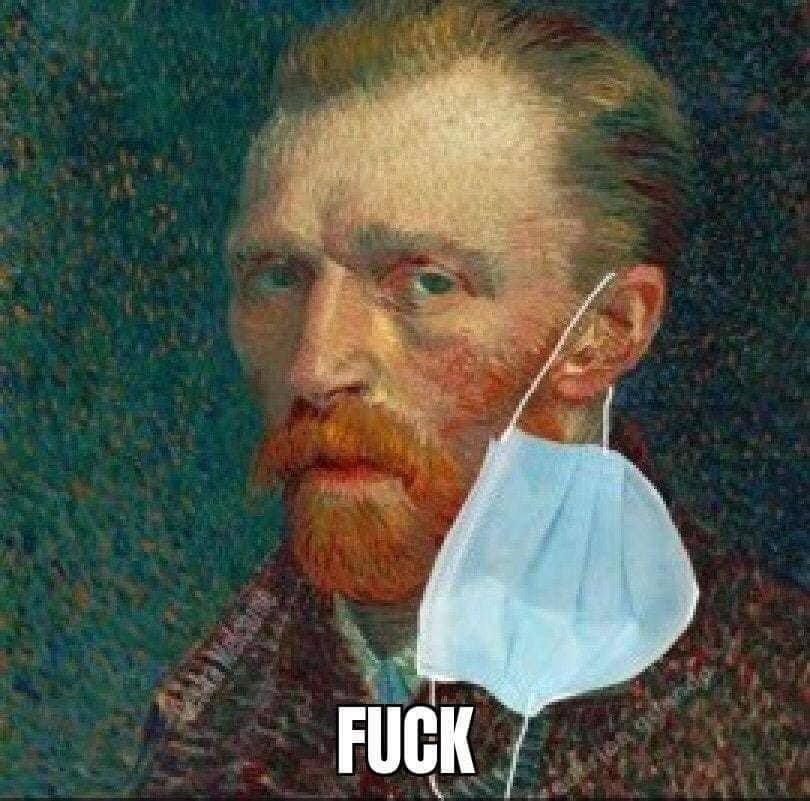 Van Gogh Ear Mask