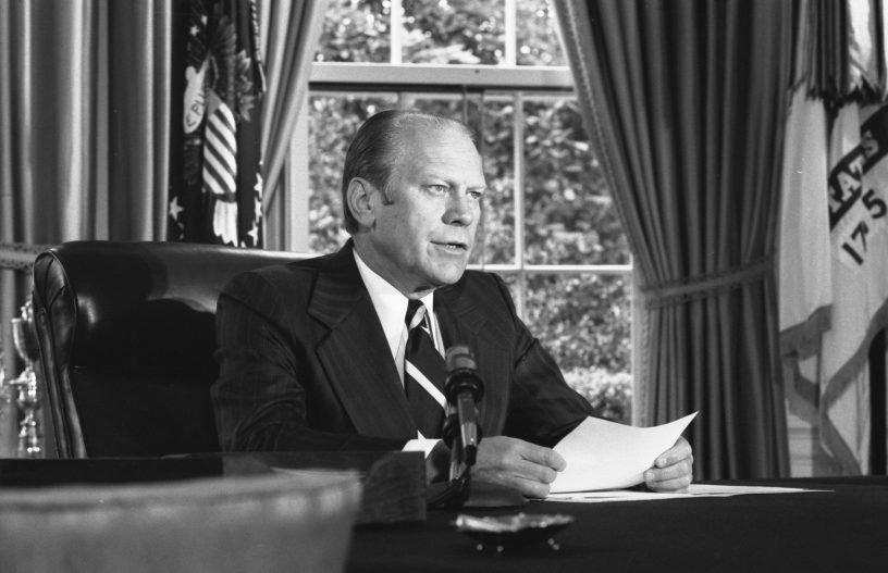 President Ford Pardons Nixon