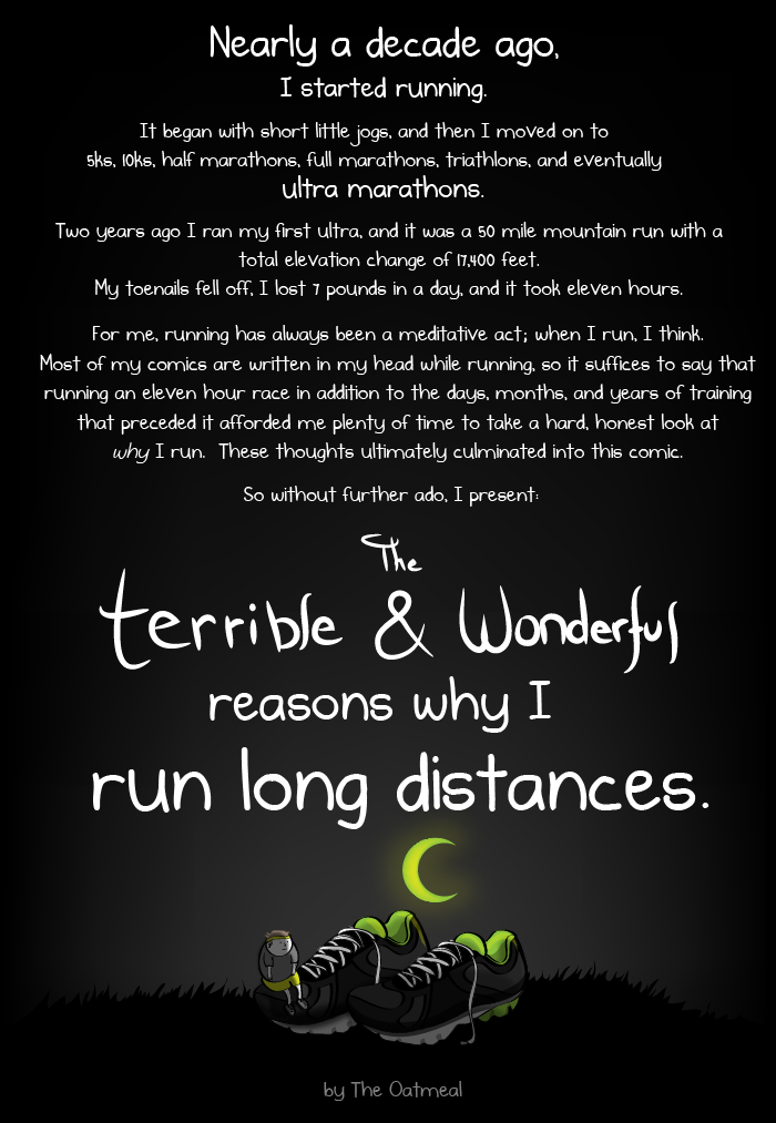 The Oatmeal Running Intro