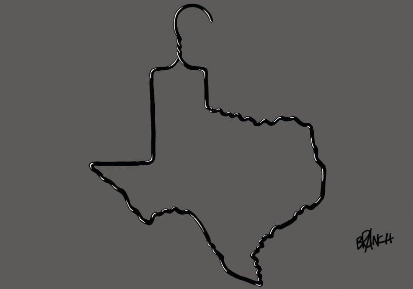 Texas Abortion Hanger Courtesy of Branch
